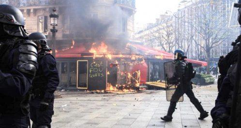 Crise des «gilets jaunes» en France : 200 millions d'euros de dégâts depuis le début du mouvement