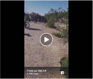 Vidéo : les employés de GTP ) Hassi R'mel manifestent contre le système