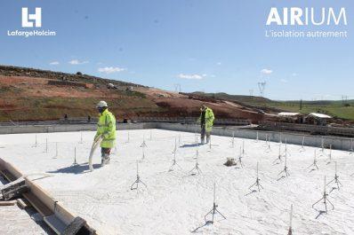 LafargeHolcim Algérie présente sa solution mondiale pour améliorer l'efficacité énergétique des bâtiments Airium™