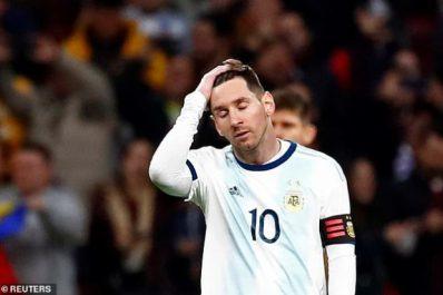 Argentine : Le forfait de Messi va priver la fédération de 500 000€