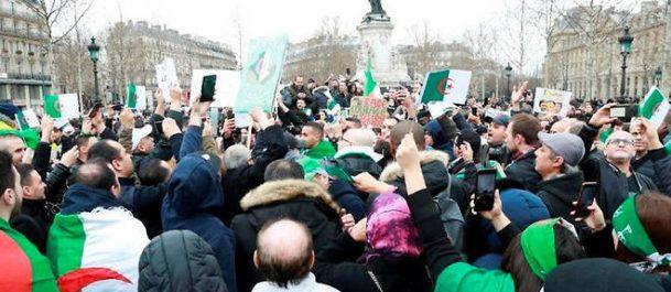 France : importante mobilisation populaire pour un changement « radical » en Algérie