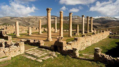 Les États-Unis soutiennent l'Algérie pour la préservation de ses biens culturels.