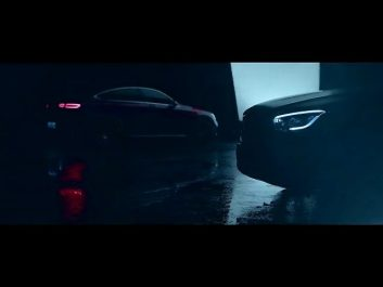 Mercedes-Benz tease le GLC Coupé facelift