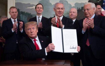 Golan: Damas, Moscou et la Ligue Arabe dénoncent l'annonce américaine