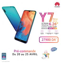 HUAWEI Y7 Prime 2019, le nouveau smartphone assemblé en Algérie par la marque mondiale