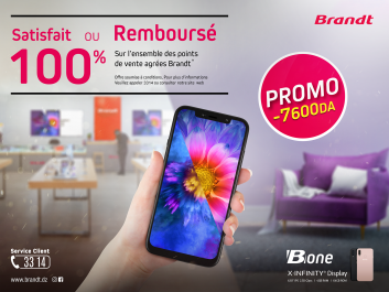 Brandt Algérie lance pour la première fois en Algérie le service « satisfait ou rembourse »