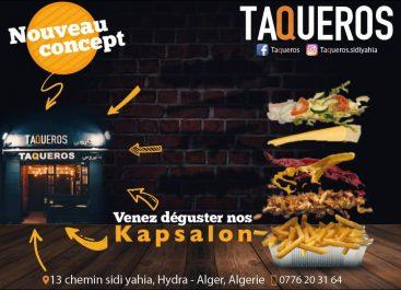 Le kapsalon, le délice venu des Pays-Bas débarque à Alger chez Taqueros!