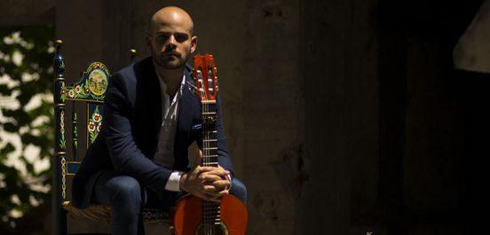 Le guitariste flamenco Alberto Lopez en concert à Alger
