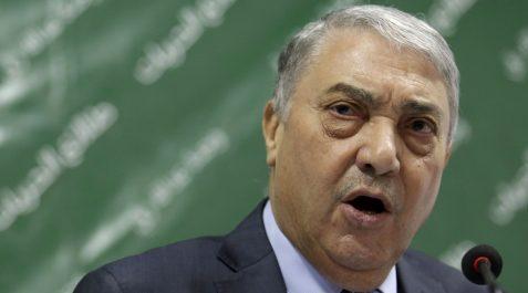 Tlemcen: Ali Benflis débute sa campagne électorale, son premier meeting chahuté