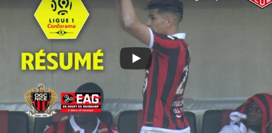 Un triplé de Atal offre la victoire à Nice face à Guingamp [vidéo]