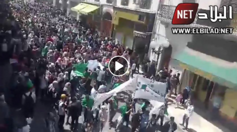 Imposante marche des étudiants à Constantine [vidéo]