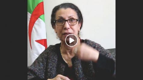 Vidéo: Louisa Hanoune réagit à l'affaire des militantes déshabillées dans un commissariat