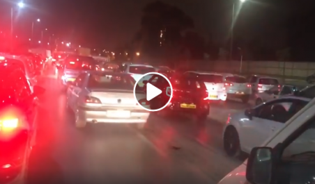 Barrage filtrant de la gendarmerie à l'entrée Est d'Alger ! [vidéo]