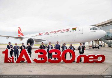 Air Mauritius réceptionne son premier A330neo
