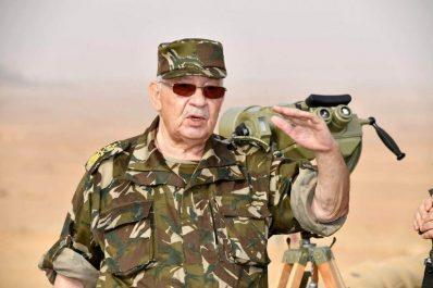 Gaïd Salah entame une visite de travail et d'inspection dans la 6e Région militaire
