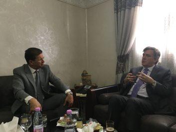 Visite de l'ambassadeur des Etats-Unis à Constantine