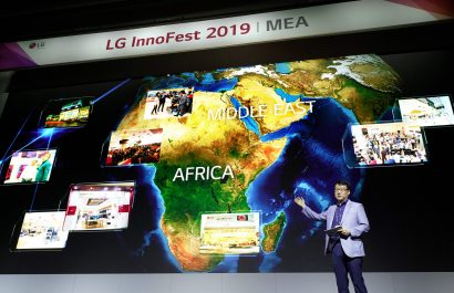 Les solutions LG premium living space impressionnent à Innofest MEA 2019
