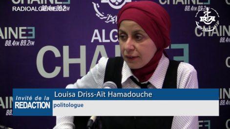 Louisa Driss Ait Hamadouche, politologue :Parvenir à un véritable changement de système politique