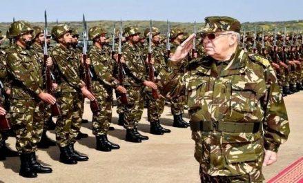 Première sortie de Gaid Salah sur le terrain depuis la démission de Bouteflika