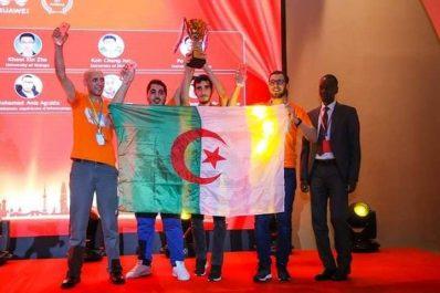 Une équipe algérienne vainqueur du Huawei ICT competition !