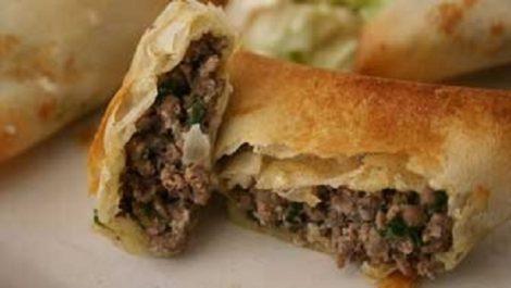 Bourak l'aâdjina (Chaussons frits)