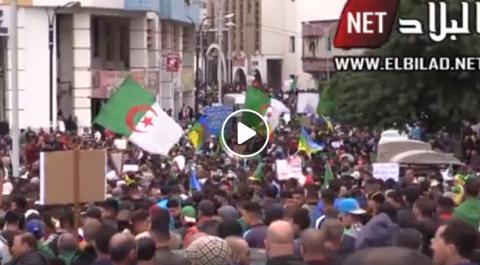 Grandiose manifestation à Bouira [vidéo]