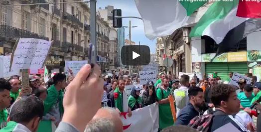 11e vendredi de contestation: Forte mobilisation à Oran [vidéo]