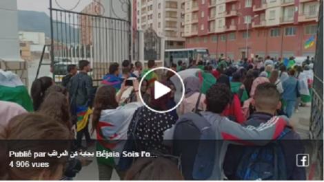 Vidéo/ 21 Mai : Marche des étudiants à Béjaïa