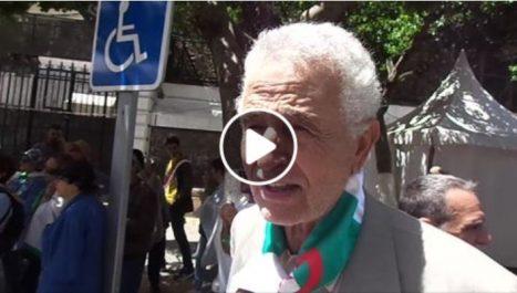 L'ancien moudjahid Abdelmadjid Azzi participe à la marche des étudiants: «on a eu l'indépendance mais pas la liberté»