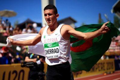 Athlétisme / 1 500 mètres du meeting de Karlsruhe (Allemagne) : L'argent et record personnel pour Cherrad