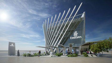 Emirates dévoile son pavillon pour l'Expo 2020 à Dubaï se focalisant sur l'avenir de l'aviation commerciale