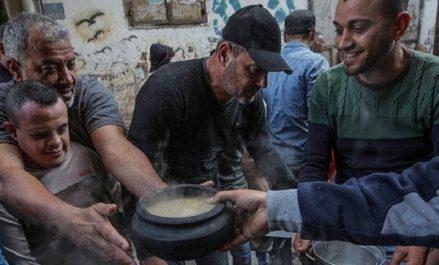 Ghaza : plus d'un million de Palestiniens risquent de mourir de faim d'ici juin