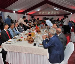 Pour la 12ème année consécutive : Ooredoo organise un Iftar en l'honneur des médias