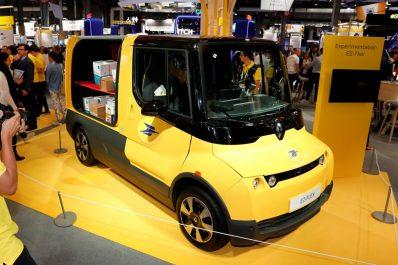 Renault EZ-FLEX : La livraison repensée