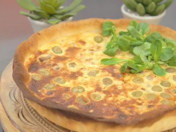 Tarte aux thon et olives
