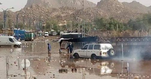 Djanet: l'ampleur des dégâts causés par les inondations [vidéo]