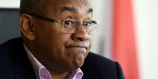 Ahmad Ahmad, président de la CAF interrogé par les autorités françaises !
