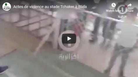 Finale de la Coupe d'Algérie : actes de violence au stade Tchaker à Blida