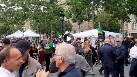 16ème rassemblement des algériens à Paris pour une Algérie libre et démocratique [vidéo]
