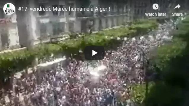 """Résultat de recherche d'images pour """"vendred 17 image algerie"""""""