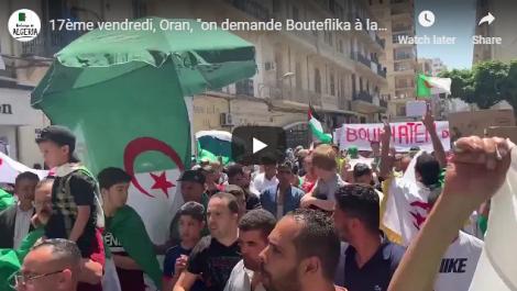 Les Oranais scandent «on demande Bouteflika à la prison d'El harrach»