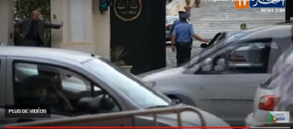 Vidéo : L'arrivée de l'ex wali d'Alger Abdelkader Zoukh à la Cour suprême