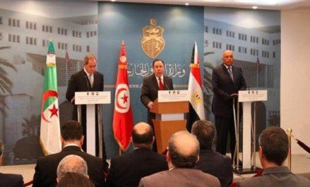 Libye: les ministres des AE de l'Algérie, de la Tunisie et de l'Egypte réaffirment leur appui à la solution politique