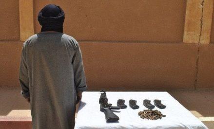 Reddition d'un terroriste à Tamanrasset