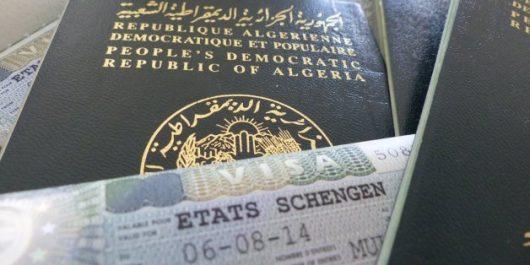 Visas Schengen : L'Algérie premier en nombre de refus !