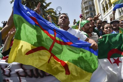 Rassemblement vendredi devant le siège de l'ONU pour dénoncer la répression contre les manifestants porteurs du drapeau Amazigh !