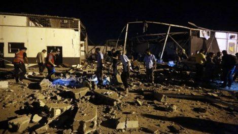 40 migrants tués et 70 blessés dans un raid aérien à Tripoli : La «promenade» meurtrière du maréchal Haftar