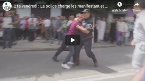 Quand Mohcine Belabbas arrache un manifestant des mains de la police !