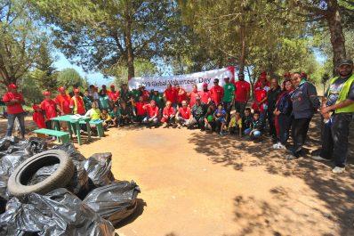 LG Electronics Algérie organise une opération de nettoyage et de sensibilisation au niveau de la forêt de Bainem