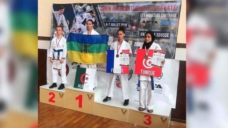 Port du drapeau Amazigh au tournoi international de Karaté-do: Des sanctions sévères ont été prononcées